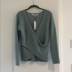 Criss cross sweater from Cupcakes and Cashmere